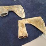 Na Polach Grunwaldu znaleziono dwa XV-wieczne topory