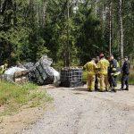Sprzątnięcie z lasu chemikaliów kosztowało 130 tys. zł. Policja dotąd nie ujęła sprawców
