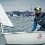 Julia Rogalska młodzieżową wicemistrzynią Polski w żeglarstwie