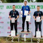 Rozbił bank w Akademickich Mistrzostwach Polski. Trzy złote medale i rekord kraju