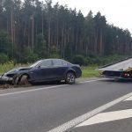 Uwaga kierowcy – utrudnienia na wylocie z Olsztyna w kierunku Warszawy