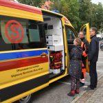 Nowa karetka trafiła do szpitala w Ełku