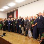 Grupa elbląskich działaczy uhonorowana Krzyżami Wolności i Solidarności