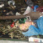 Niewybuch znaleziony podczas sortowania odpadów