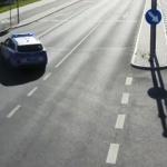 Wypadek na przejściu z udziałem rowerzysty. 41-latek trafił do szpitala