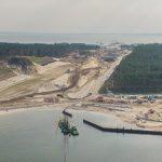 Przekop Mierzei Wiślanej droższy o ponad miliard złotych. Ministerstwo Infrastruktury uaktualniło kosztorys inwestycji