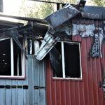 Pożar hali przy ul. Wiosennej w Olsztynie. Z ogniem walczyło 66 strażaków