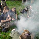 Sekrety żołnierskiego życia poznali uczniowie klasy mundurowej w Pasłęku