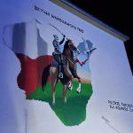 W Pieniężnie odsłonięto mural poświęcony 100. rocznicy Bitwy Warszawskiej