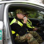 Kompletnie pijany jechał rowerem. 41-latka zatrzymali funkcjonariusze straży granicznej