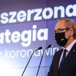 Ministerstwo Zdrowia wprowadza nową strategię w walce z COVID-19