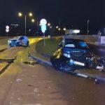3 osoby trafiły do szpitala po wypadkach w Olsztynie i na DK 15. Warunki jazdy są coraz trudniejsze