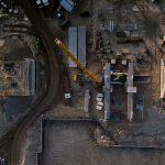 Budowa kanału żeglugowego na Mierzei. W 2020 roku wykonano około 40 procent prac