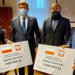 """Ponad dwa miliony złotych na inwestycje. """"To wsparcie dla samorządów i lokalnej gospodarki"""""""