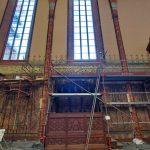 Trwa remont w archikatedrze we Fromborku. Odrestaurowano część polichromii