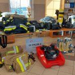 Finansowy zastrzyk dla strażaków-ochotników z powiatu elbląskiego. Do jednostek OSP trafił nowy sprzęt