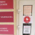 Urząd Gminy w Stawigudzie zamknięty dla klientów z powodu COVID-19