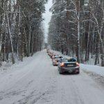 Uwaga kierowcy! Bardzo trudne warunki na drogach w regionie, policja apeluje o ostrożność