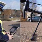 """Policyjny dron będzie patrolował drogi Warmii i Mazur. """"Chcemy ostudzić zapędy piratów drogowych"""""""