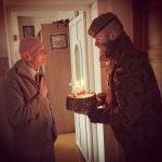 Takiej niespodzianki się nie spodziewał. Terytorialsi świętowali 95. urodziny Witolda Grodziewicza