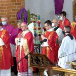 Kościół katolicki obchodzi Niedzielę Palmową. Zobacz transmisję mszy z olsztyńskiej katedry