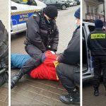 Strażnicy miejscy użyli gazu, bo mężczyzna nie miał maseczki? Sprawę wyjaśnia ratusz