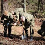 Terytorialsi z Braniewa pomagali szukać szczątków polskiego żołnierza
