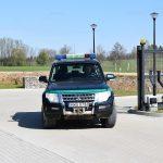 Funkcjonariusz straży granicznej zatrzymał pijanego rowerzystę