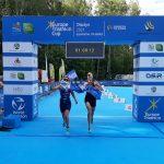 Olsztyn areną triathlonowego Pucharu Europy. Sprawdź kto wygrał sobotnią rywalizację