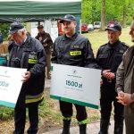 Leśnicy wspierają finansowo strażaków ochotników