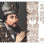 Poczta Polska wprowadzi do obiegu nowy znaczek. Upamiętnia kolejnego patrona Polski