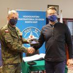 Ćwiczenia sztabowe żołnierzy NATO w Elblągu. Z wizytą przybył ambasador Estonii