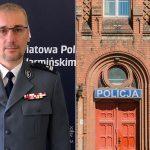 Olsztyńscy policjanci mają nowego komendanta. Piotr Koszczał służy w policji od 29 lat