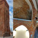 Nowe życie najstarszego gotyckiego zabytku w Braniewie. Czy wieża bramna wygra ogólnopolski konkurs?