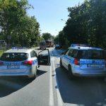 Zablokowana krajowa 16 w Mrągowie. Utrudnienia się zakończyły