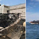 Trzy osoby zatrzymane w związku z pożarem łodzi na jeziorze Śniardwy