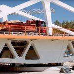 Jeszcze w czerwcu turyści przejadą nowym mostem nad kanałem żeglugowym na Mierzei