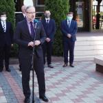 Minister zdrowia Adam Niedzielski: Laboratorium sanepidu w Olsztynie będzie badać mutacje koronawirusów