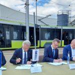 Podpisano umowę na budowę drugiej nitki tramwajowej w Olsztynie. Wykonawca ma 26 miesięcy
