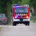 Ochotnicza Straż Pożarna ze Świętego Gaju otrzymała wóz strażacki