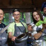 Czaplay z zespołu Enej gościem Radia od kuchni. Przygotowaliśmy m.in. szczupaka i karmuszkę
