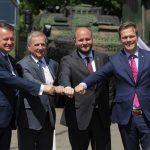Ministrowie obrony państw Grupy Wyszehradzkiej w Elblągu o bezpieczeństwie i inicjatywach wojskowych
