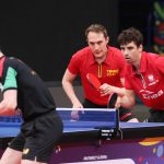 Tenis stołowy: Dyjas i Nuytinck wicemistrzami Europy w deblu