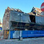 Policyjne postępowanie przeciwko właścicielowi spalonej kamienicy na Starym Mieście w Olsztynie