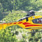 Niebezpieczny wypadek na Bełdanach. Ranną 5-latkę zabrał śmigłowiec LPR