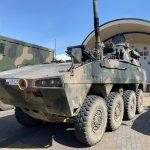 """Transporter """"Rosomak"""" i moździerze """"Rak"""". Mieszkańcy Morąga podziwiali nowoczesny sprzęt wojskowy"""