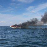Nowe ustalenia w śledztwie na temat pożaru łodzi motorowej na Śniardwach