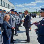 Ponad tysiąc funkcjonariuszy odznaczonych i awansowanych. W Bartoszycach odbyły się wojewódzkie obchody Święta Policji