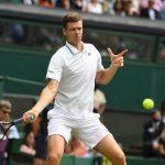 Hubert Hurkacz odpadł w półfinale wielkoszlemowego Wimbledonu