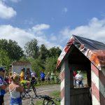 Rowerowa lekcja historii w gminie Morąg. Uczestnicy rajdu szlakiem mało znanych zabytków przejechali około 30 km